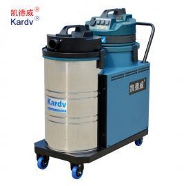 凯德威纺织厂用工业吸尘器DL-3078X吸毛絮粉末用大功率吸尘器
