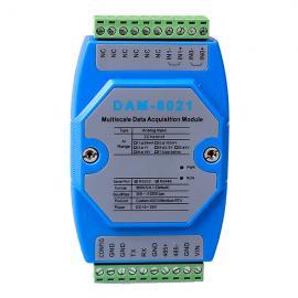 模拟量输入模块DAM-8021诚控电子