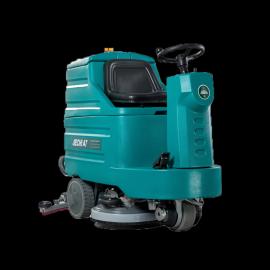 洁驰A7中型驾驶式全自动洗地机 车间食堂仓库保洁用电瓶式拖地机
