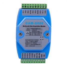 8通道模拟量输入模块DAM-6080诚控电子