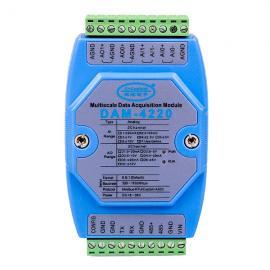 模拟量输入输出模块DAM-4220诚控电子