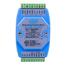 模拟量开关量输入输出模块DAM-4224诚控电子
