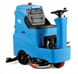容恩驾驶式洗地车R-QQ工厂车间用洗地吸干机