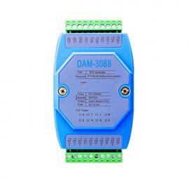 K型热电偶温度采集模块DAM-3088诚控电子