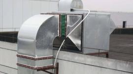 小区饭店油烟风机噪声大,饭店排风机噪声治理