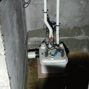下沉式污水提升泵 负一楼污水处理设备 地下室排污提升泵站
