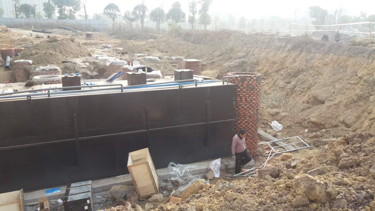 10吨地埋式污水处理设备装置