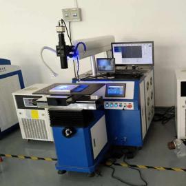 不锈钢压力表端子盒焊接加工设备/多用途金属天策自动激光焊接机