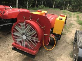 浩鸿自走式微耕机履带式多功能旋耕机遥控多功能果园管理