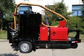 浩鸿100L沥青胶灌缝机拖挂式路面裂缝填补设备升级款