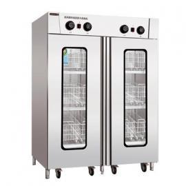 美厨消毒柜 MC-6双门推车式消毒柜 高温热风循环餐具消毒柜