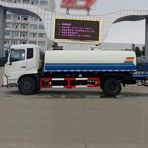 东风天锦15吨工地洒水车 运水车 又好又便宜