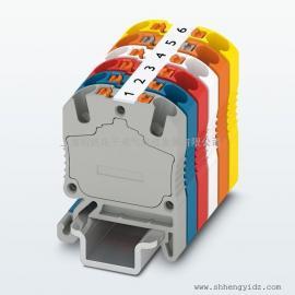 """菲尼克斯19""""可插拔板卡机架和欧式板卡连接器"""