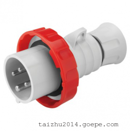 GEWISS工业插头GW60007FH欧式工业防水插头 意大利进口