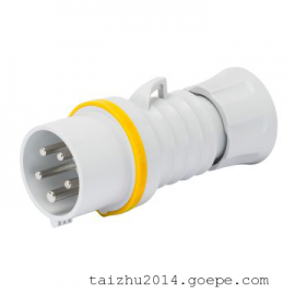 GEWISS工业插头GW60008FH欧式工业防水插头 意大利进口