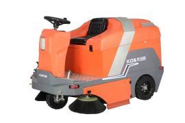 凯迪斯S5厂区大院树叶垃圾清扫车电动驾驶式工业扫地机吸尘车