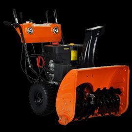 YN13-7工厂道路环卫燃油小型手推式除雪扬雪机酒店园区抛雪机