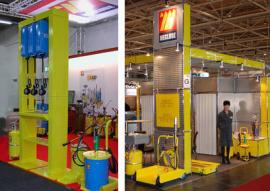 定制非标卷管器 气动黄油泵立柱 进口稀油泵 定量黄油机 油墨泵