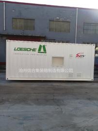 特种集装箱 非标设备集装箱 可定制颜色 喷绘LOGO