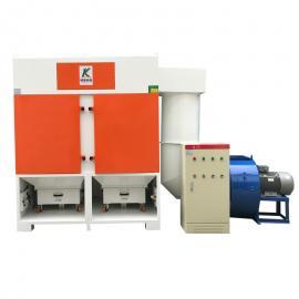 柯英KJF大风量工业集尘系统 大型工业吸尘器 除尘器费用
