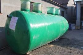 100吨玻璃钢化粪池