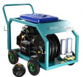 170公斤汽油 电动下水管道疏通机市政环卫高压清洗机物业小区