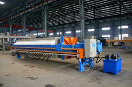 污水,废水处理压滤机,自动隔膜厢式压滤机全套设备