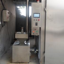 豆腐干烟熏炉,全自动烟熏豆干的机器