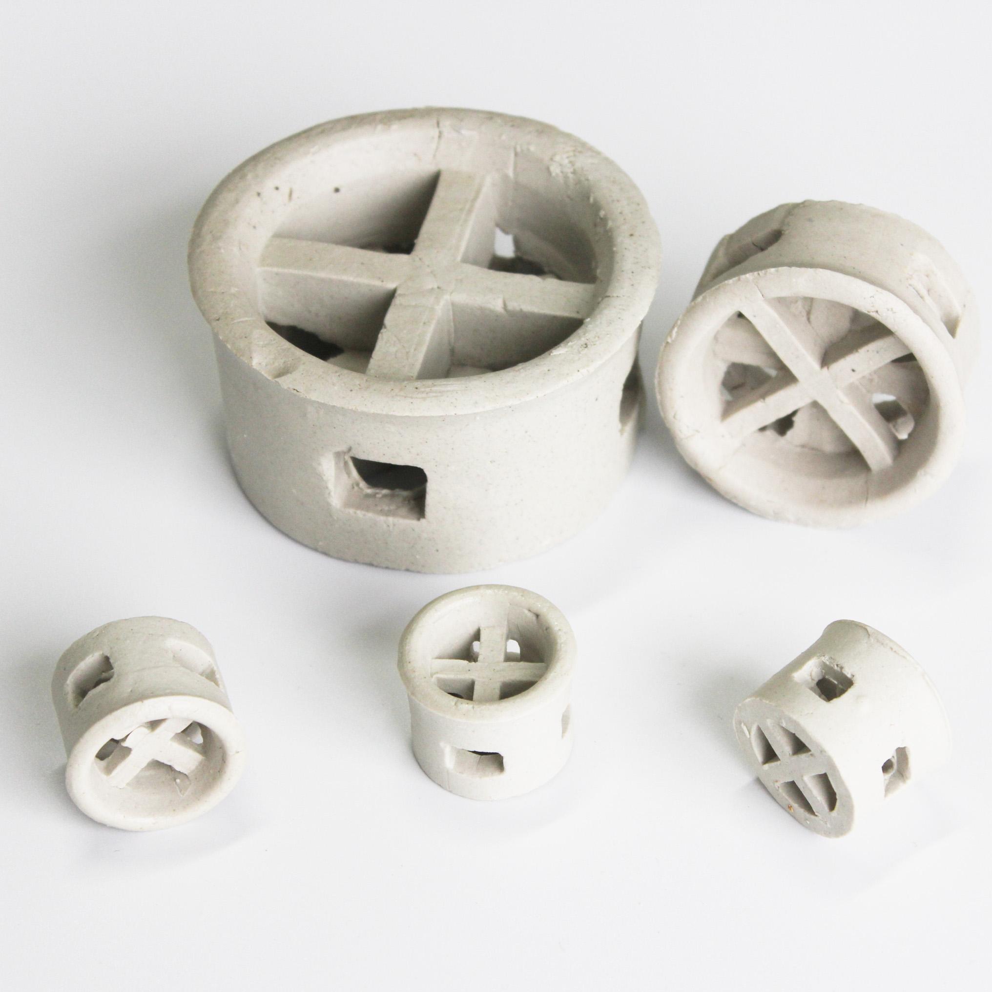 天马陶瓷优质陶瓷阶梯环 废气/干燥/洗涤/再生塔填料