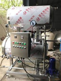 多功能海鲜灭菌设备 不锈钢高温杀菌锅