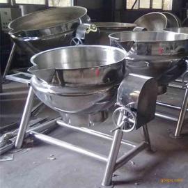 不锈钢豆浆蒸煮锅 立式搅拌夹层设备