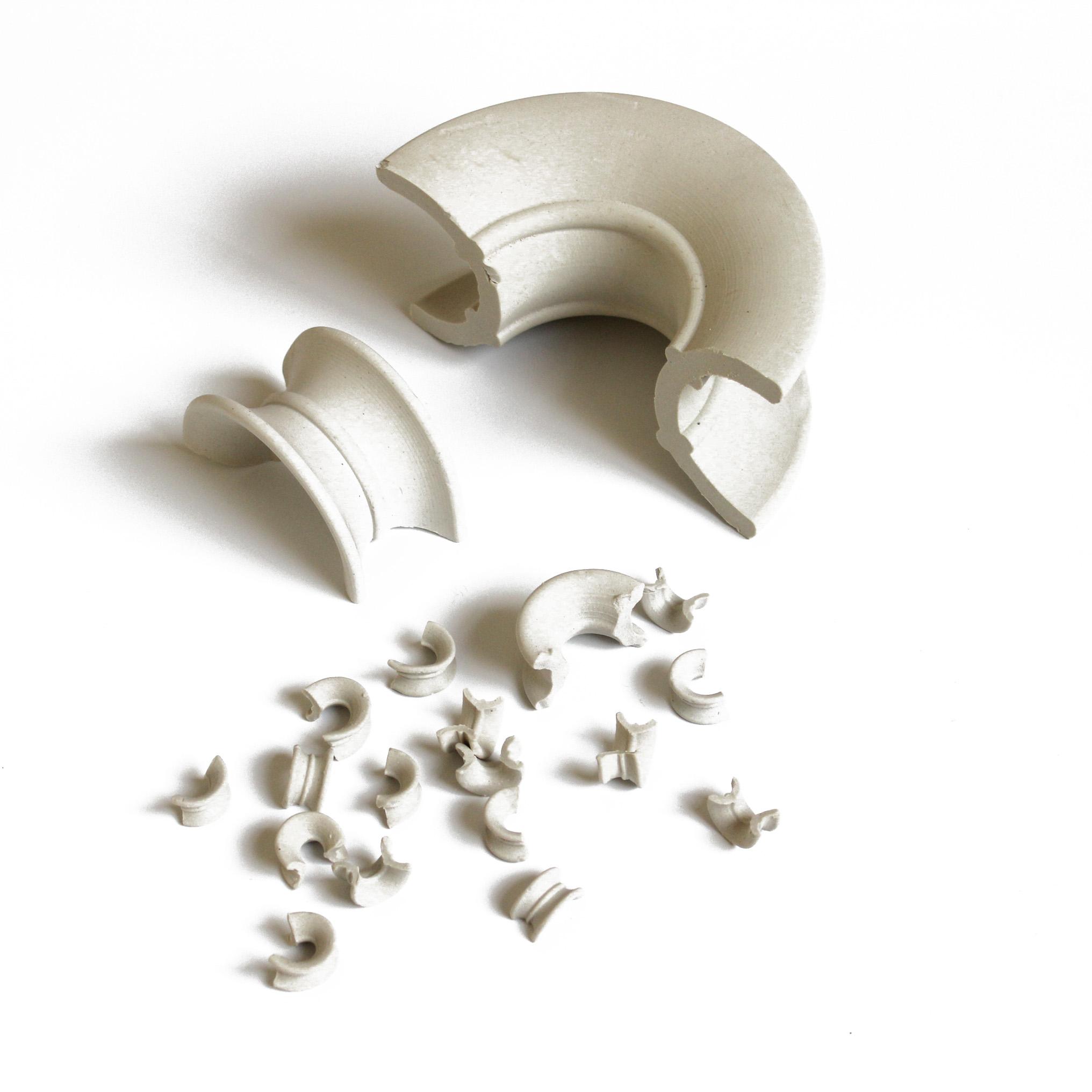 天马陶瓷优质陶瓷矩鞍环 废气/干燥/洗涤/再生塔填料