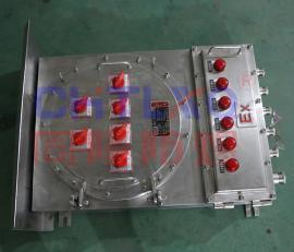 订做户外防爆动力箱 不锈钢防爆配电箱BXD(M)99