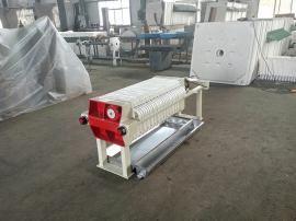 全套环保污泥,污水处理设备,明华牌板框式小型压滤机{320型}