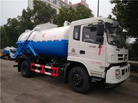 罐式8吨10吨15吨污泥车-对接污水厂运输含水污泥专用车