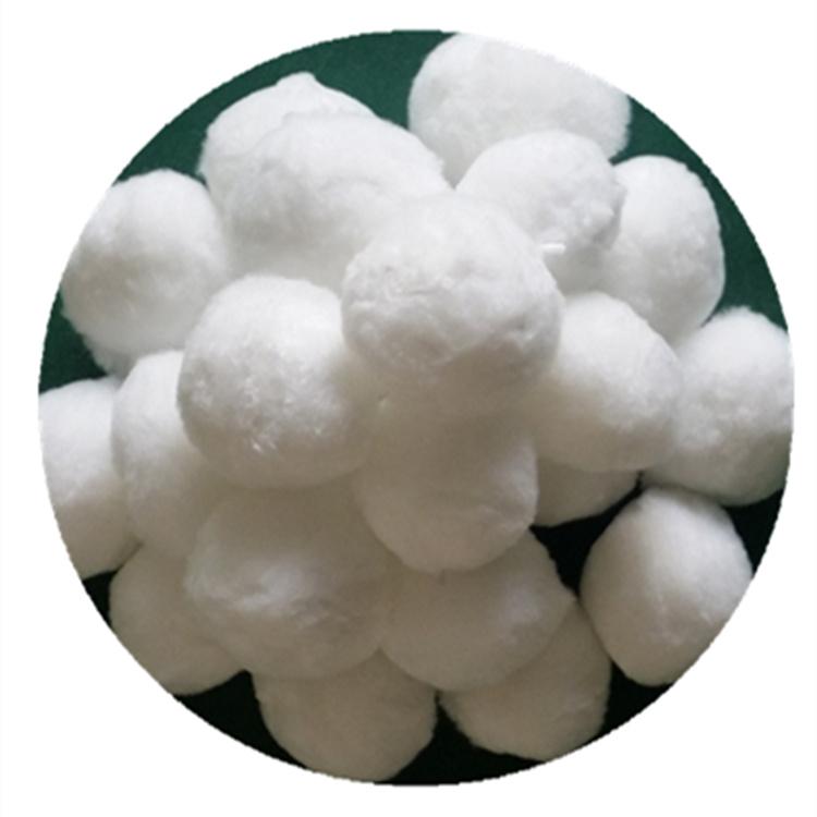 脱油除脂降COD细丝高弹纯白40纤维球滤料