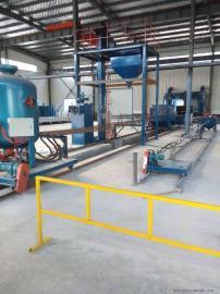 管道喷砂机适用于大中小型号的钢管内壁喷砂清理除锈防腐的设备