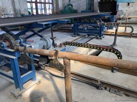 油管喷砂机,抽油杆内外壁喷丸清理机