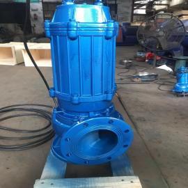 虹桥150WQ100-10/7.5KW-2级电机铸铁材质排污泵、便宜耐用潜水泵