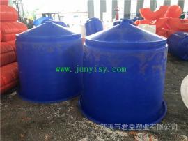 养殖塑料锥形桶 直径1500*1200对虾养殖桶
