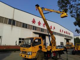 东风单排13米高空作业车蓝牌车销售JDF5040JGK13E5型高空作业车