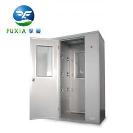 双人单吹风淋室|彩钢板/不锈钢风淋室FLB-1C