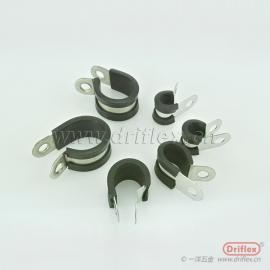 不锈钢软管夹 管夹 金属固定夹 不锈钢U型管卡管夹