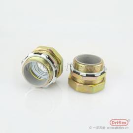 4分接头 直接头 金属软管接头 防水线扣 软连接