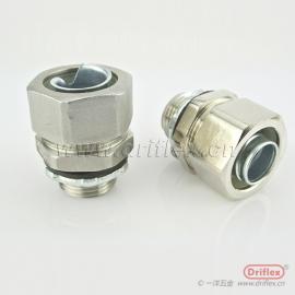 不锈钢外丝软管接头 金属软管连接器