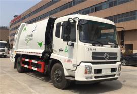 国六压缩垃圾车|东风天锦14方环卫压缩垃圾车