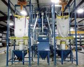 不锈钢吨袋粉料卸料设备厂