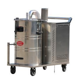 三相电强力工业吸尘器380V大型工厂车间吸颗粒焊渣用吸尘器80L桶