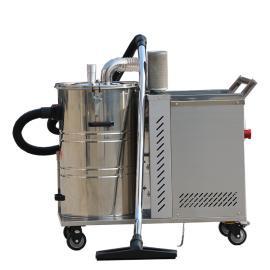 3000W不锈钢桶强力工业吸尘器吸颗粒焊渣石子铁屑用吸尘器