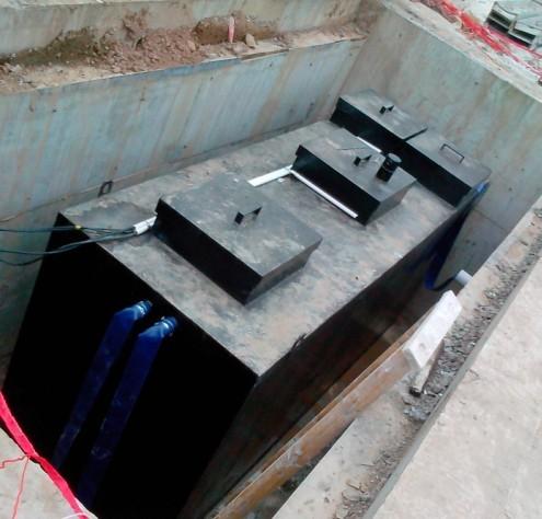 乡镇医院、民营小型医院污水处理设备包验收通过